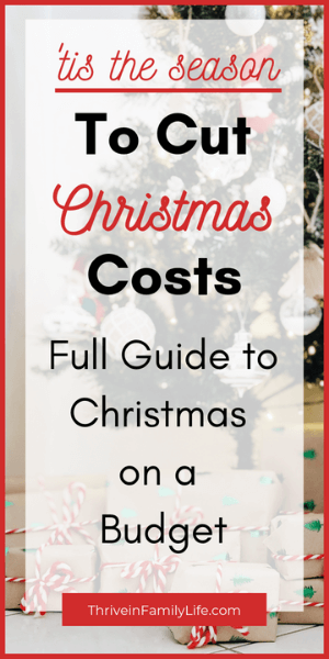 Christmas on a Budget Guide. How you can cut costs for Christmas and still enjoy family traditions. List of freebies included!