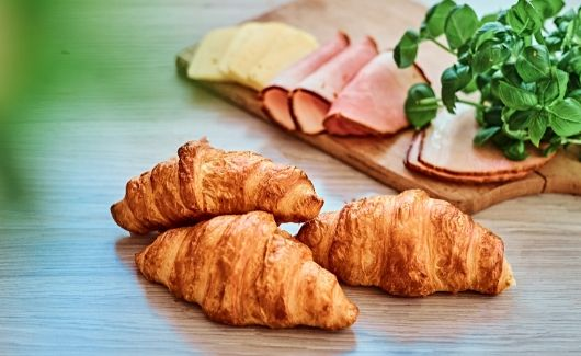 4 ingredient ham and cheese croissants for weekly meal plan