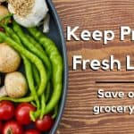 bowl of produce to be stored properly to stay fresh
