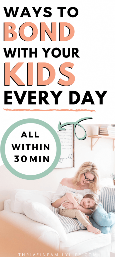 ways to bond with your kids every day during 2020