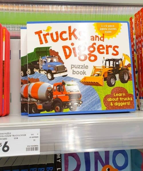 montessori style toddler book from Kmart AU