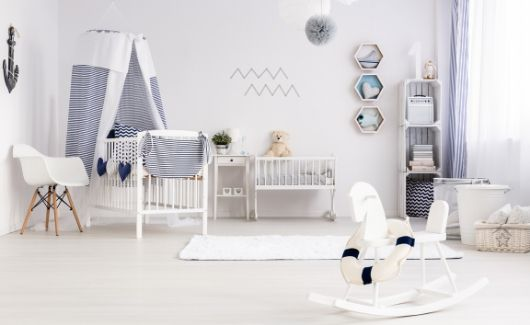 nursery to keep positive mindset during pregnancy