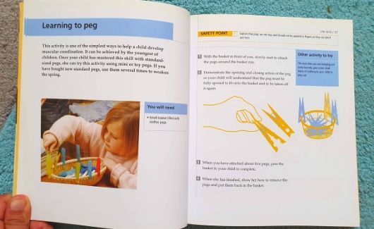 teach me to do it myself book review example page on learning to peg