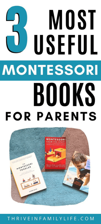 most useful Montessori books for parenting and their reviews