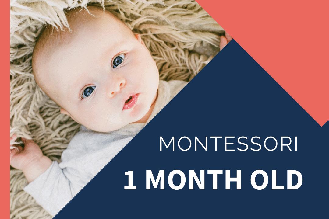 montessori newborn baby