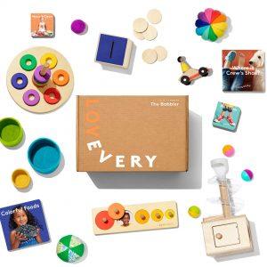 The babbler lovery kit montessori aligned toys
