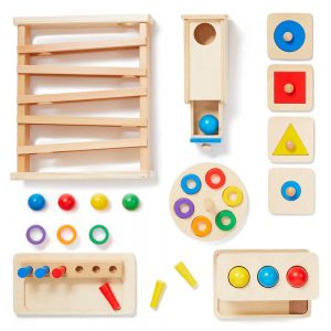 Montikids level 4 toys for montessori at home with 12 month old