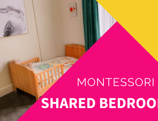 montessori shared bedroom