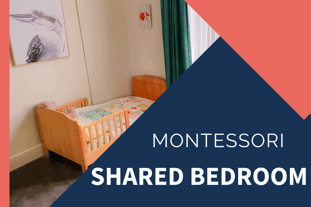 montessori shared sibling room