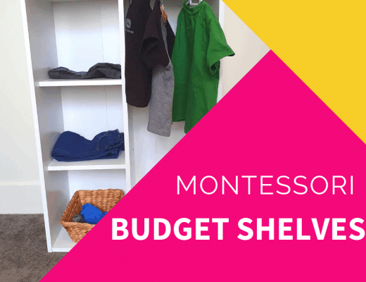 budget friendly montessori shelves australia